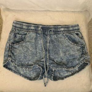 Acid-wash Shorts